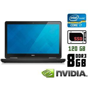 Игровой ноутбук б/у Dell Latitude E5540, Экран 15.6, Core i7, DDR3-8Gb, SSD-120Gb, Веб-Камера