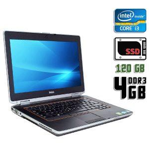 Ноутбук б/у Dell Latitude E6420, Экран 14.1, Core i3 2310M, DDR3-4Gb, SSD-120 Gb, Вебкамера