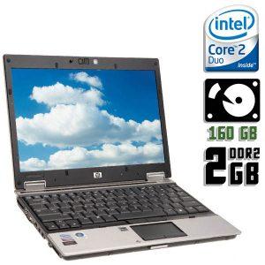 Ноутбук б/у HP Elitebook 2530p, Экран 12.1, 2 ядра, 2-Gb, HDD-160Gb