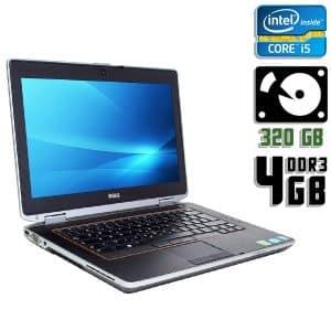 Ноутбук б/у Dell Latitude E6420, Экран 14.1, Core i5 2520M, DDR3-4Gb, HDD-320Gb, Веб-камера