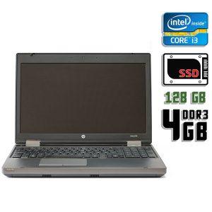 Ноутбук б/у HP Probook 6570b, Экран 15.6, Core i3 3120, DDR3-4Gb, SSD-128Gb, Вебкамера