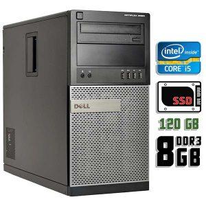 Компьютер б/у Dell Optiplex 9020, Core i5 4670, DDR3-8Gb, SSD-120Gb