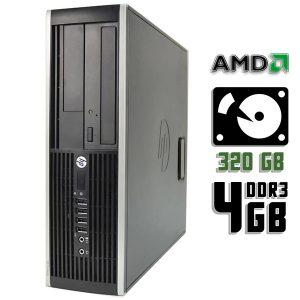 Компьютер б/у HP Compaq 6005 Pro, 3 ядра, DDR3-4Gb, HDD-320 Gb