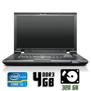 Ноутбук б/у Lenovo ThinkPad L520, Экран 15.6, Core i3 2330M, DDR3-4Gb, HDD-320Gb