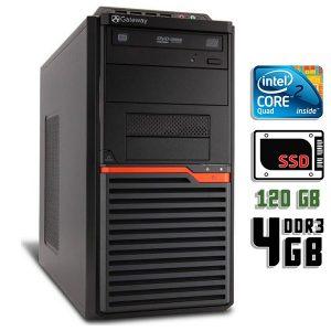 Компьютер б/у Acer Gateway DT30, 4 ядра, DDR3-4Gb, SSD-120 Gb