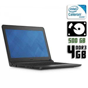 Ноутбук б/у Dell Latitude 3350, Экран 13.3, 2 ядра, DDR3-4Gb, HDD-500Gb, Вебкамера