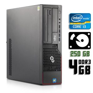 Компьютер б/у Fujitsu Esprimo E700 SFF, Core i3 2120, DDR3-4Gb, HDD-250Gb