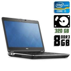 Ноутбук б/у Dell Latitude E6440, Экран 14.1, Core i5 4200M, DDR3-8Gb, HDD-320Gb, Веб-камера