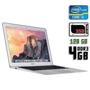 Ноутбук б/у Apple MacBook Air MD760, Экран 13.3, Core i5 4200U, DDR3-4ГБ, SSD-128Гб, Веб-камера