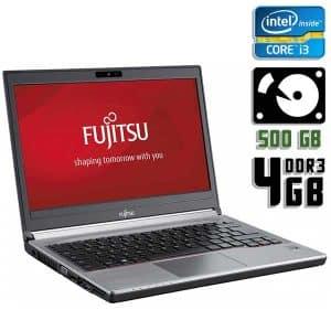 Ноутбук б/у Fujitsu LifeBook E734, Экран 13.3, Core i3 4100M, DDR3-4Gb, HDD-500Gb, Веб-камера