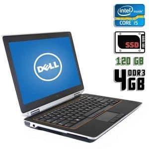 Ноутбук б/у Dell Latitude E6320, Экран 13.3, Core i5 2520M, DDR3-4 Gb, SSD-120Gb, Веб-камера