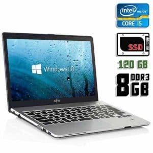 Ультрабук б/у Fujitsu Lifebook S935, Экран 13.3, Core i5 5200U, DDR3-8Gb, SSD-120Gb, Веб-камера