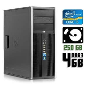 Компьютер б/у HP 8100 Elite, корпус ATX, Core i5 660, DDR3-4 Gb, HDD-250 Gb
