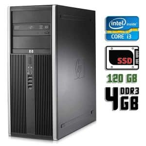 Компьютер б/у HP Compaq 8200 Elite, Core i5 2400, DDR3-4Gb, SSD-120Gb