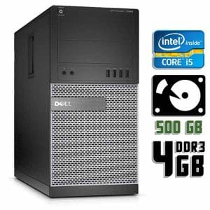 Компьютер б/у Dell Optiplex 7020, Core i5 4590, DDR3-4Gb, HDD-500Gb