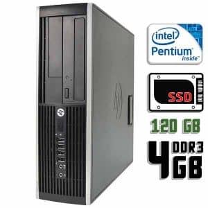 Компьютер б/у HP Compaq 6300 Pro SFF, Pentium G620, DDR3-4Gb, SSD-120Gb