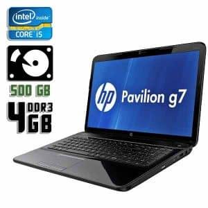 Ноутбук б/у HP Pavilion G7-1000, Экран 17.3, Core i5 2410M, DDR3-4Gb, HDD-500Gb, Веб-камера
