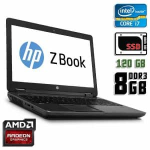 Ноутбук б/у HP ZBook 14 G1, Экран 14, Core i7 4600U, DDR3-8Gb, SSD-120Gb, AMD Radeon HD 8750M, Веб-камера
