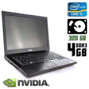 Ноутбук б/у Dell Latitude E6410, Экран 14.1, Core i5, NVS, DDR3-4 Gb, HDD-320 Gb