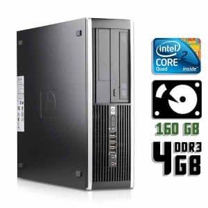 Компьютер б/у HP Compaq 6000 Pro SFF, Slim/Тонкий корпус, 4 ядра, DDR3-4Gb, HDD-160Gb