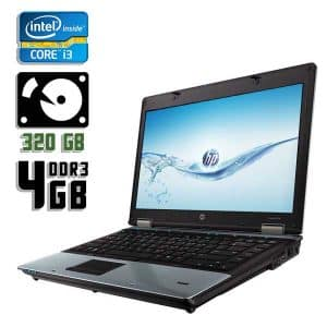 Ноутбук б/у HP ProBook 6450b, Экран 14.1, Core i3 380M, DDR3-4Gb, HDD-320Gb