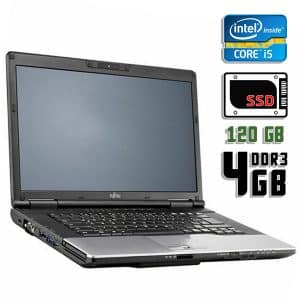 Ноутбук б/у Fujitsu Lifebook S782, Экран 14, Core i5 3210M, DDR3-4Gb, SSD-120Gb