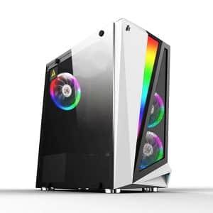 Игровой компьютер 1stPlayer R5-3R1-WH Color LED White