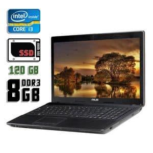Ноутбук б/у Asus A54L, экран 15.6, Core i3 2330M, DDR3-8Gb, SSD-120Gb, Веб-камера