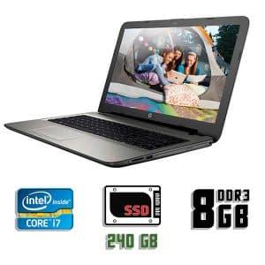 Ноутбук бу HP Pavilion 15-AC040ND, Экран 15.6, Core i7 5500U, DDR3-8Gb, SSD-240Gb, веб-камера