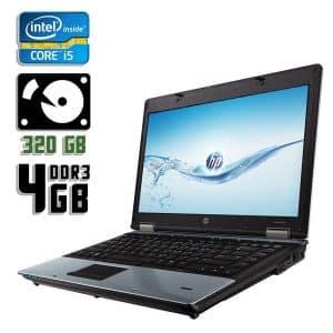 Ноутбук б/у HP ProBook 6450b, Экран 14.1, Core i5 450M, DDR3-4Gb, HDD-320Gb, Веб-камера