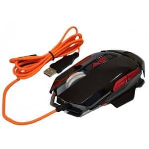 Мышь игровая ZORNWEE GX10, 2400 dpi, 7 кнопок, подсветка