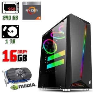 Игровой компьютер 1stPlayer Rainbow-R3 Color LED
