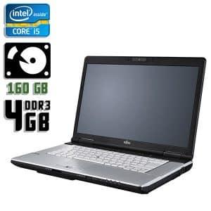 Ноутбук б/у Fujitsu LifeBook S751, Экран 14.1, Core i5 2Gen, DDR3-4Gb, HDD-160Gb