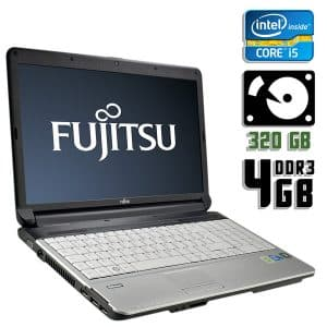 Ноутбук б/у Fujitsu Lifebook A530, Диагональ 15.6, Core i5 1Gen, DDR3-4Gb, HDD-320Gb, Веб-камера