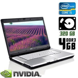 Ноутбук б/у Fujitsu Lifebook E780, Экран 15.6, Core i5 1Gen, DDR3-4Gb, HDD-320Gb, Веб-камера