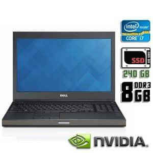 Игровой ноутбук б/у Dell Precision M4600, Экран 15.6, Core i7 2Gen, DDR3-8Gb, SSD-240Gb, Quadro 2000M