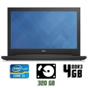 Ноутбук б/у Dell Vostro 3550, Экран 15.6, Core i3 2Gen, DDR3-4Gb, HDD-320Gb, Веб-камера