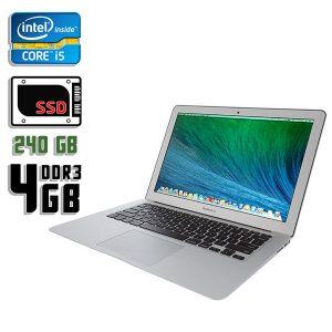 Ноутбук б/у Apple MacBook Air A1369, Экран 13.3, Core i5 2Gen, DDR3-4Gb, SSD-240Gb, Веб-камера